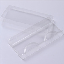 25pcs False Eyelash Packing Box Clear Lid Tray Eyelashes Storage Transparent Empty Lash Case Makeup Organizer for travel