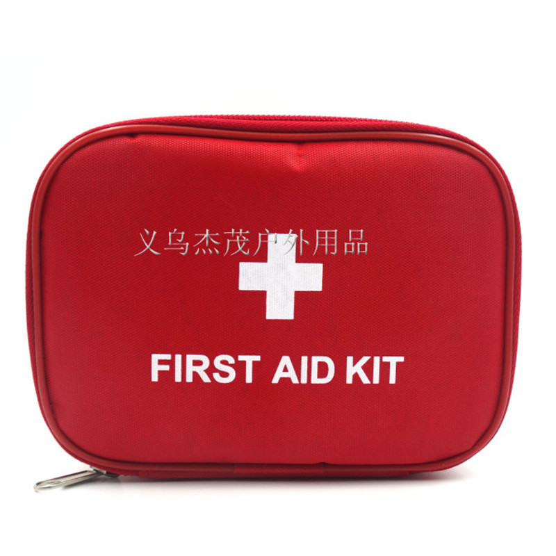 Outdoor Travel First Aid kit Mini Car First Aid kit bag Home Small Medical box Emergency Survival kit Size 15*11*4 CM close-up