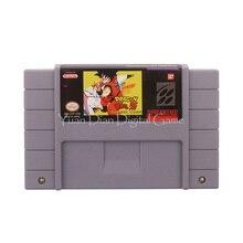Nintendo sfc/snes игры картридж консоли карты dragon ball z супер saiya densetsu сша английская версия