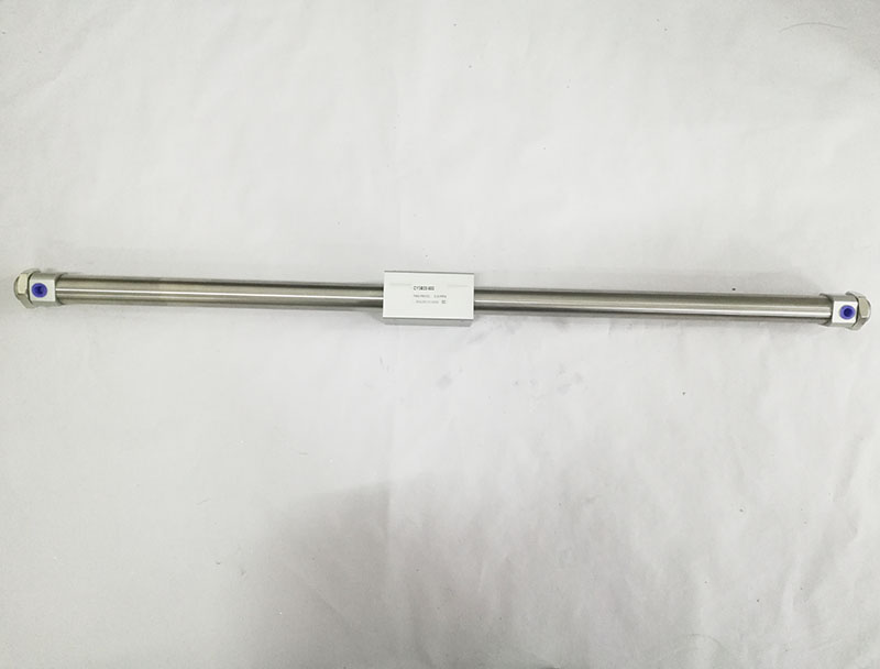 CY3B20 500 SMC type Magnetically Coupled Rodless Cylinder Basic bore 20mm stroke 500mm aluminum alloy pneumatic