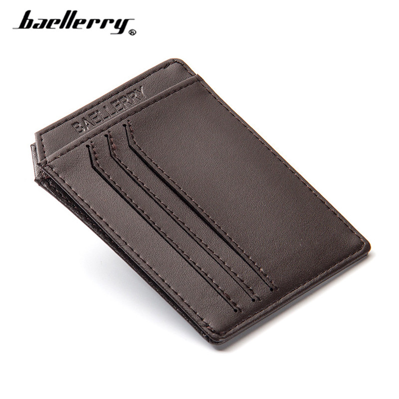 цены Mini Wallets Men Super Slim Card Holder High Quality Simple No Zipper Solid Fashion Cash Purses Popular Small Money Bags