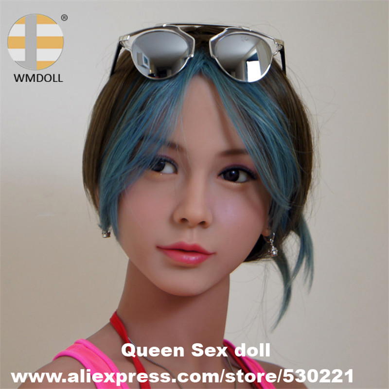 WMDOLL Top Quality Lifelike Sex Doll Heads For Japanese Real Adult Love Dolls Oral Sexy Toy top quality oral sex doll head for japanese realistic dolls realdoll heads adult sex toys