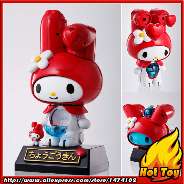 100% Original BANDAI Tamashii Nations Chogokin Action Figure - My Melody (Red) from Sanrio new 1 button uncut blade remote car key shell for renault twingo clio kangoo master no chip keyless entry fob case