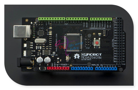 DFRobot DFRduino Mega 2560 V3.0/R3 micro controller, ATmega2560 256KB 16MHz compatible with Arduino Mega 2560 R3 for 3D Printer