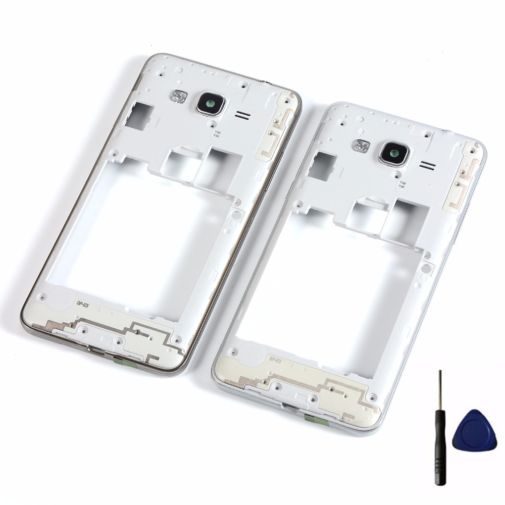 For Samsung Galaxy Grand Prime SM-G531 G531F G531H Housing Middle Frame Bezel Cover+Tools(Not G530)