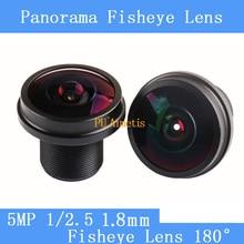 PU`Aimetis 6G HD 5MP cctv lens 1.8MM M12 mount fisheye lens for IP video surveillance camera wide angle cctv lenses