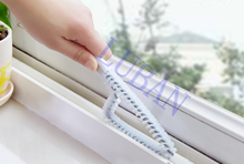 Multipurpose white 24*6.5 cm Kitchen bathroom Window / Wash station / Flume / Crevice Cleaning brush Practical Clean tool LUBAN(China)