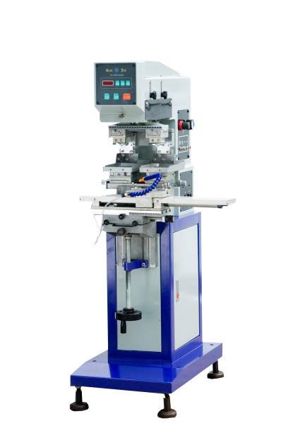 Pneumatic Double Color Pad Printing Machine,2-color Pad Printing Machine