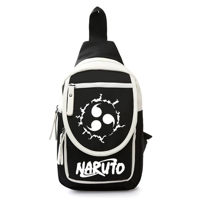 Naruto Bolso Cruzado Estampado (3 Colores)