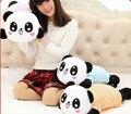 Inalámbrica Bluetooth Música Juguetes Almohada de Felpa Panda Papa Con Osos Privado Personalizado Regalo del Día de San Valentín Regalos de Los Niños