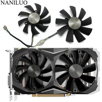 100MM GAA8S2H GAA8S2U GTX1070TI Mini 4PIN Cooler fan For ZOTAC GeForce GTX 1080 GTX 1070 Ti Mini GTX 1060 AMP Edition Card Fan image