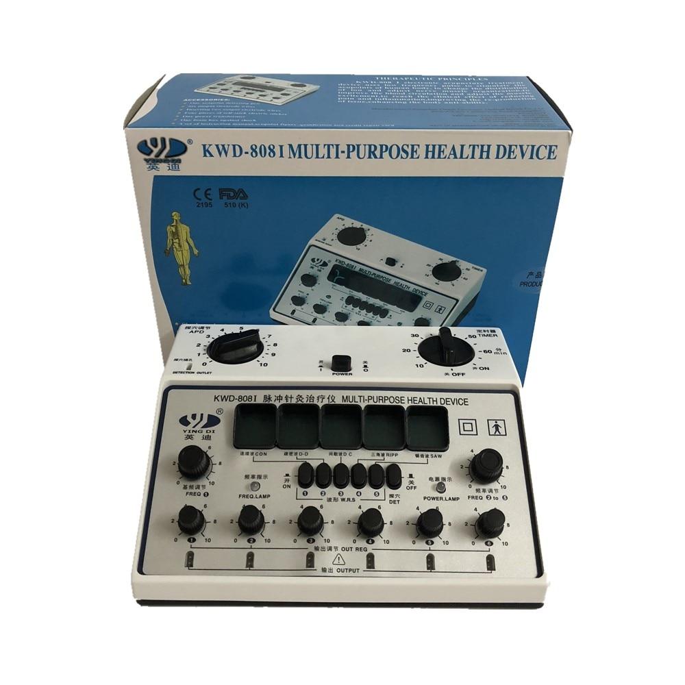 YingDi Marca Multi-Purpose Elettro Agopuntura Stimolatore KWD808-I 6 Canali di Uscita 100% di garanzia della Qualità!!!!
