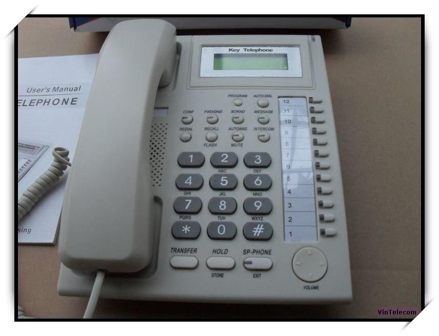 Gute Qualität Schlüssel Telefon/funktionale Telefon/keyphone/für Pbx/tk-anlage Kph201 Klar Und Unverwechselbar