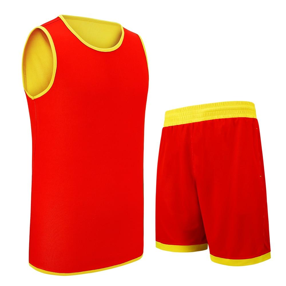 sanheng reversible basketball jersey set5