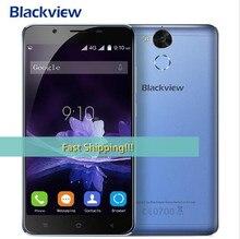 Blackview p2 4 ГБ + 64 ГБ смартфон 5.5 дюймов fhd android 6.0 сотовый телефон mt6750t окта основные 6000 мАч 13mp + 8mp камера корабля 48 час!