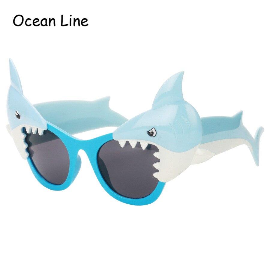 כריש מצחיק קישוטי יום הולדת משקפי שמש משקפיים תלבושות חידוש חוף טובות ציוד חגיגי מפלגה אביזרי קישוט