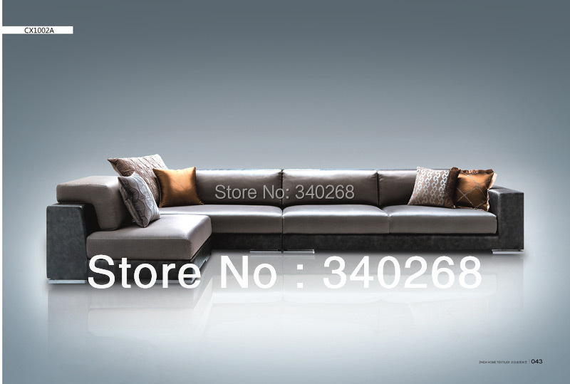 L Shape Simple Sofa Design