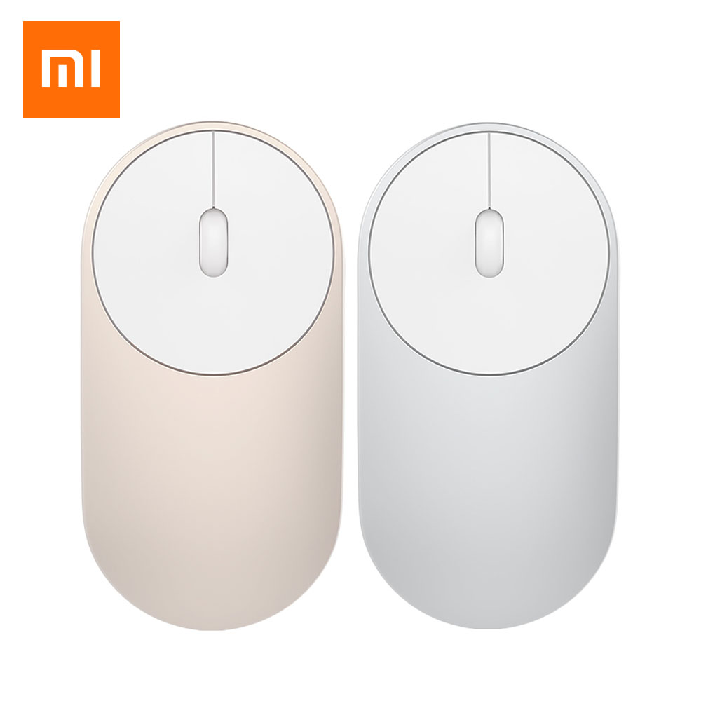 Original Xiaomi Mouse XMSB01MW Portable Wireless Mouse Optical Bluetooth 4.0 RF 2.4GHz Dual Mode for Gaming Gamer Computer