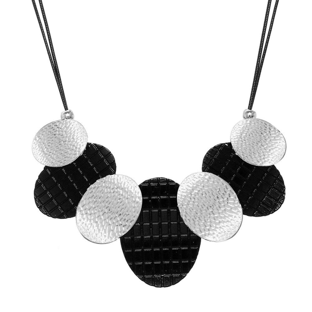 2018 Maxi Necklace Colar Big Brand Collares fine Jewelry pendants Bijoux necklaces Woman Statement Necklaces Wholesale Price