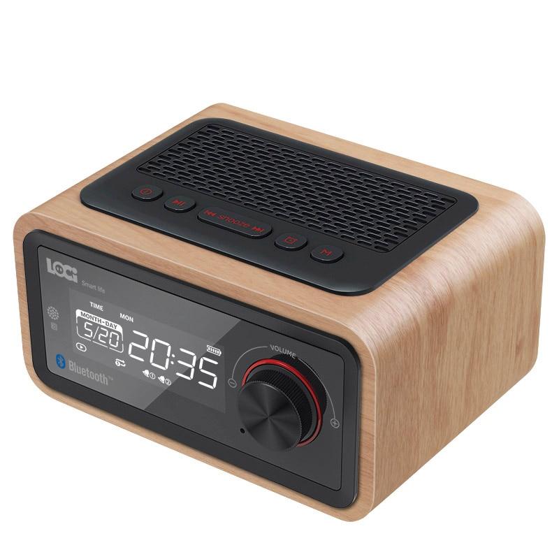 H90 Retro Multifunction Wooden Speaker S