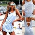 Fanala vestidos de festa sexy mulheres backless summer dress 2017 magro mulheres mini dress vestidos femininos senhoras