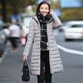 Манто femme зимняя куртка пальто женщин parka пальто женские куртки и меха jaqueta feminina вниз парки для 2016 длинные clothings