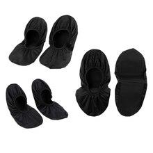 3 пары бахилы премиум обувь для боулинга Защитные чехлы для мужчин и женщин водонепроницаемые легкие