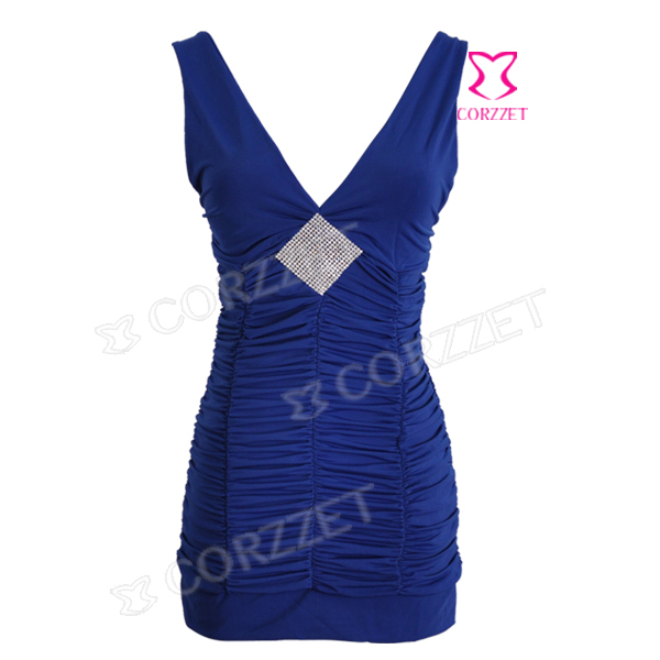Plus Size Women Sexy Sequined Cheap Mini Dress V Neck Party Dresses