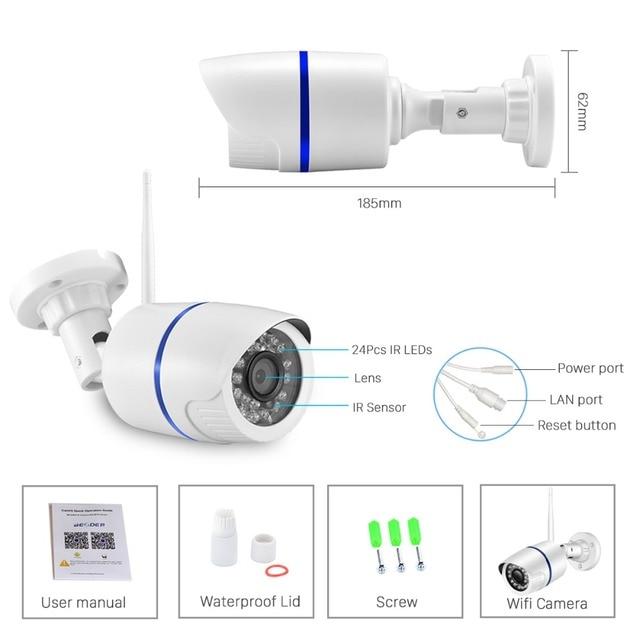Onvif HD 1080P IP Camera Outdoor WiFi Security Camera 720P 960P Surveillance 6