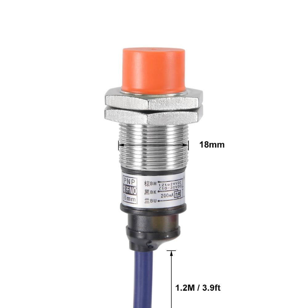 AC90-250V Inductive Proximity Sensor Detection Switch Dia.=18mm