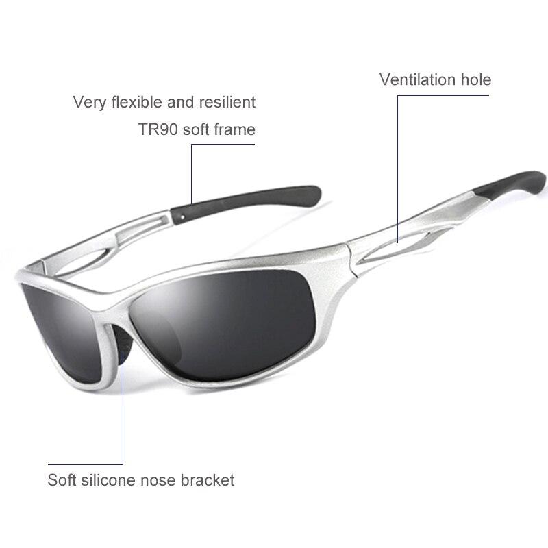Polarized Ciclismo Óculos óculos de Sol Do Esporte Da Bicicleta Óculos de Bicicleta  lente óculos de sol Pesca Corrida Eyeware speedcraft em Ciclismo Óculos ... 55c478d330