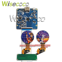 Wisecoco 1.39 inch round oled display screen 400*400 hdmi mipi board for wearable watch diy project 35.4mm*35.4mm