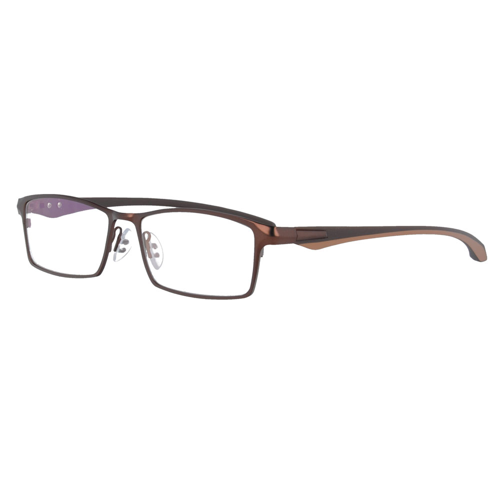 MY DOLI stainless steel and TR prescription spectacles RX optical frames myopia eyewear eyeglasses for men P9064