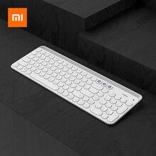 Xiaomi Miiiw 2.4G kablosuz klavye 102 tuşları için tam boy Bluetooth klavye masaüstü/dizüstü bilgisayar/bilgisayar/Tablet/Telefonlar/iPad/iPhone