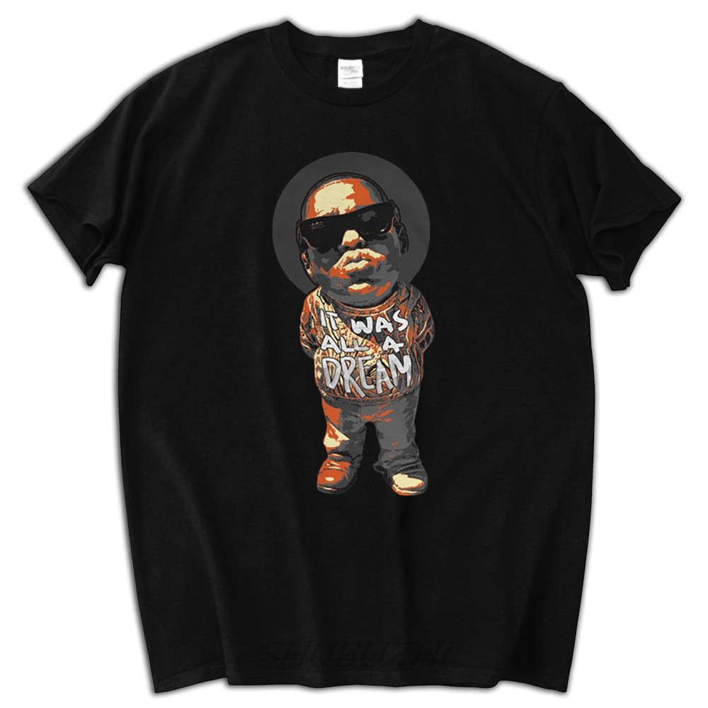 Streetwear Summer T Shirt Men Brand Tops Lil Biggie Smalls It Was All A Dream In Shirts From Mens Clothing Accessories On Aliexpress