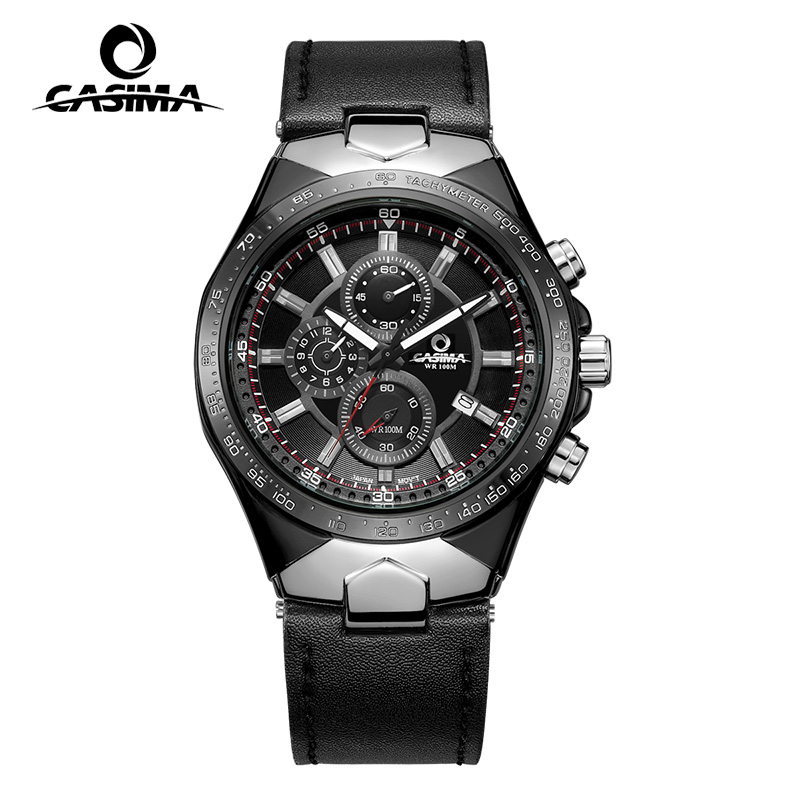 Luxury Brand CASIMA Men Sport Quartz Watches reloj hombre Multifunction Waterproof 100m Watch Men erkek kol saati montre homme цена