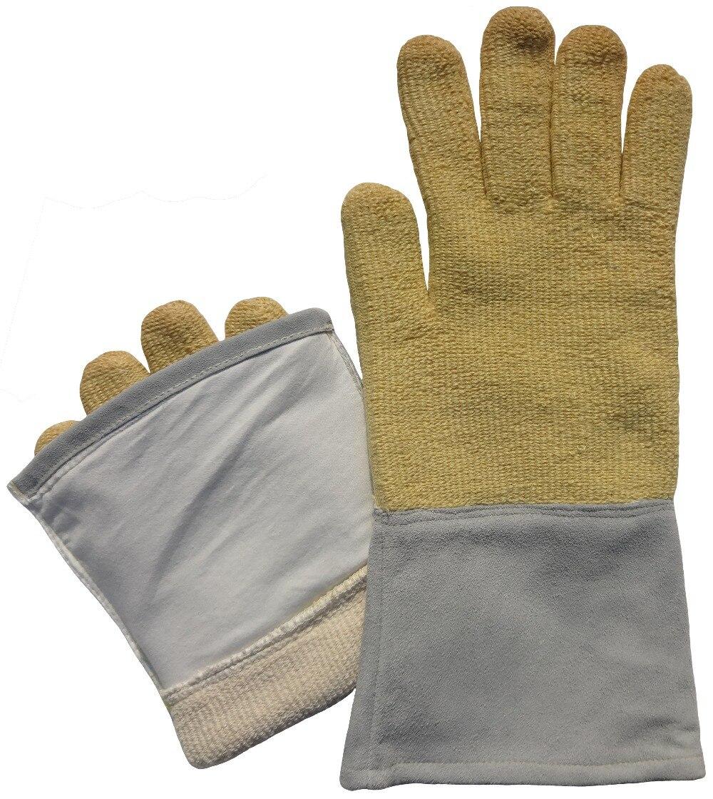 Aramid Fiber & Cow Split Leather 350 Centigrade Degree Heat Resistant  Work GlovesAramid Fiber & Cow Split Leather 350 Centigrade Degree Heat Resistant  Work Gloves