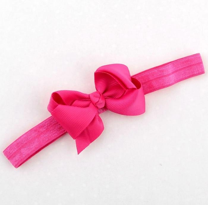 Top bebe Bow headband Ribbon Crooked Bow with Elastic headband Newborn hair  accessories Little girls Hairband 20Pcs lot-in Hair Accessories from Mother  ... 0076c6bc988
