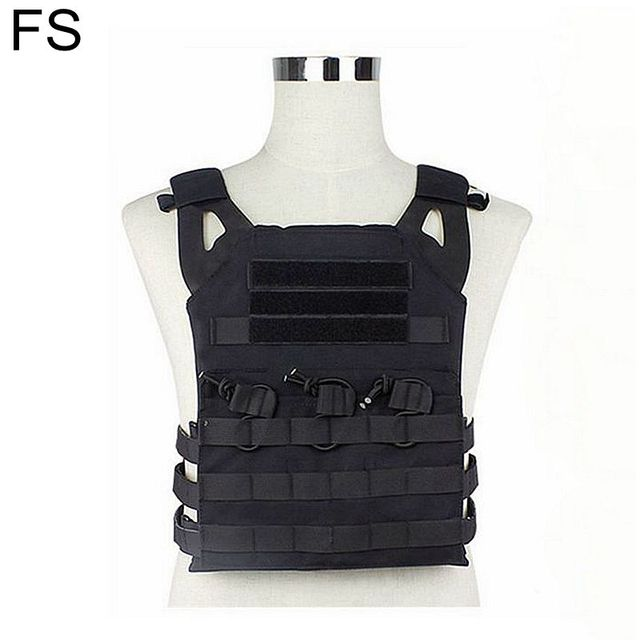 Tactical JPC Plate Carrier Molle Vest Airsoft Gear Military Army Combat Body Armor Hunting Vest Protective Vest with Mag pouch
