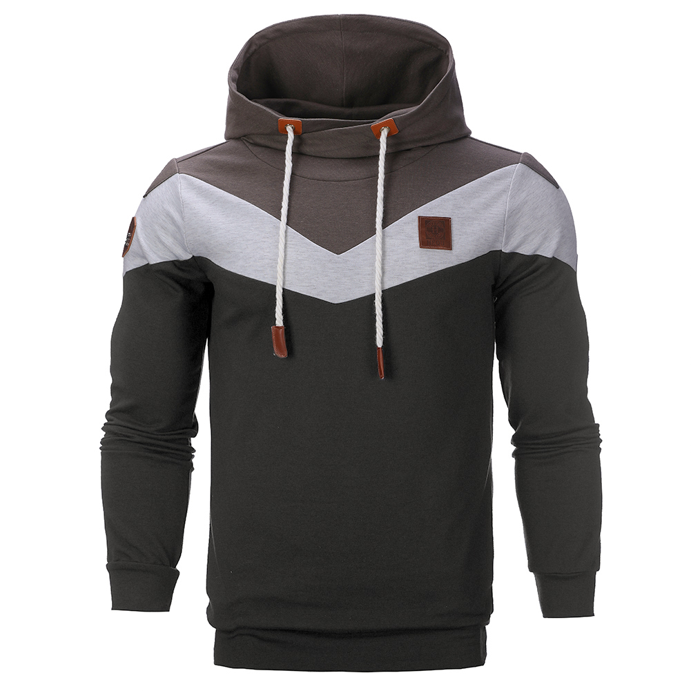 Best Individual Products Unique Hooded Tops Lovely Trend Handmade Classical Usable Sweatshirt Men`s Design
