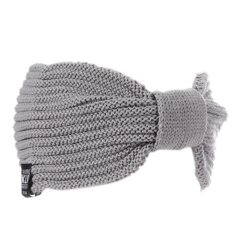 Fasce invernali womens scaldino dell orecchio crochet turbante maglia di  lana testa wrap hairband della fascia copricapi femminile fascia per  capelli ... e6b24d015902
