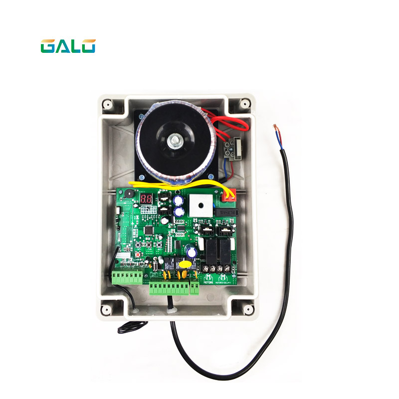 Electric Swing Gate Opener Controller And Remote Control Swing Gate Motor Box With 2 Remote Control