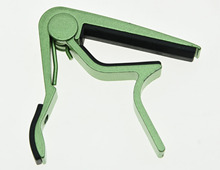 KAISH Green Acoustic Electric Guitar Capo Metal Quick Change Trigger Tune Key Clamp
