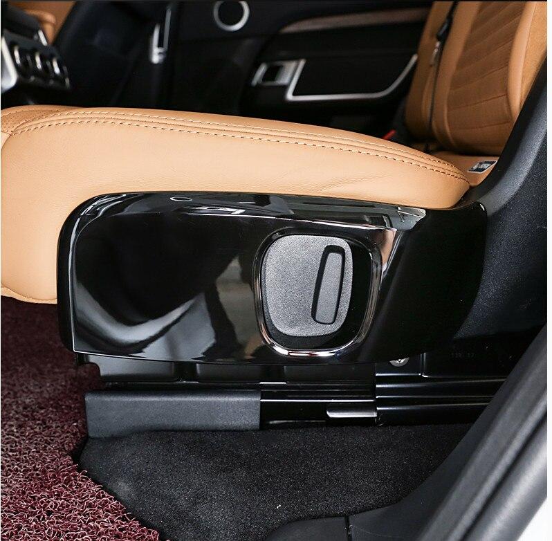 Pour Land Rover Discovery 5 2017 voiture style ABS Chrome voiture deuxième rangée siège housse latérale cadre garniture accessoires lot de 2 pièces