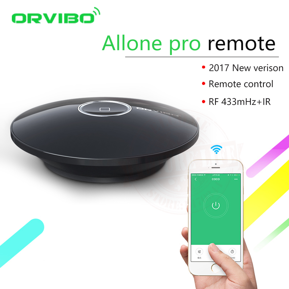 2017 Orvibo Allone pro IR+RF+WIFI Smart Home Automation Intelligent Universal Controller Wireless Smart Remote Control Switch