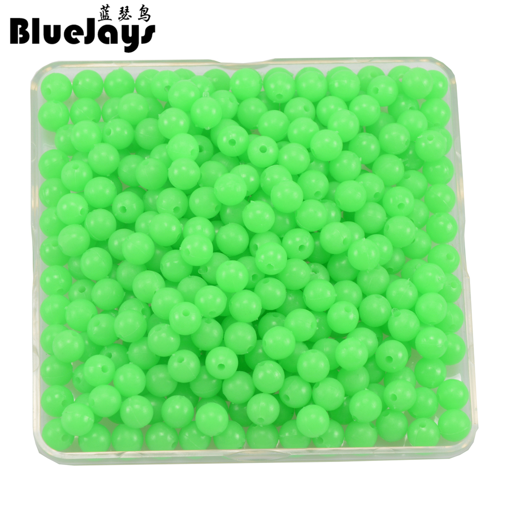 new arrived 500pcs/lot Luminous Beads 3mm 4mm 5mm 6mm Luminous Block Pearl Fishing Lure Accessoires Fishing Tackle free shipping free shipping 500pcs lot bat54slt1g mark code kl4 bat54s sot 23 100