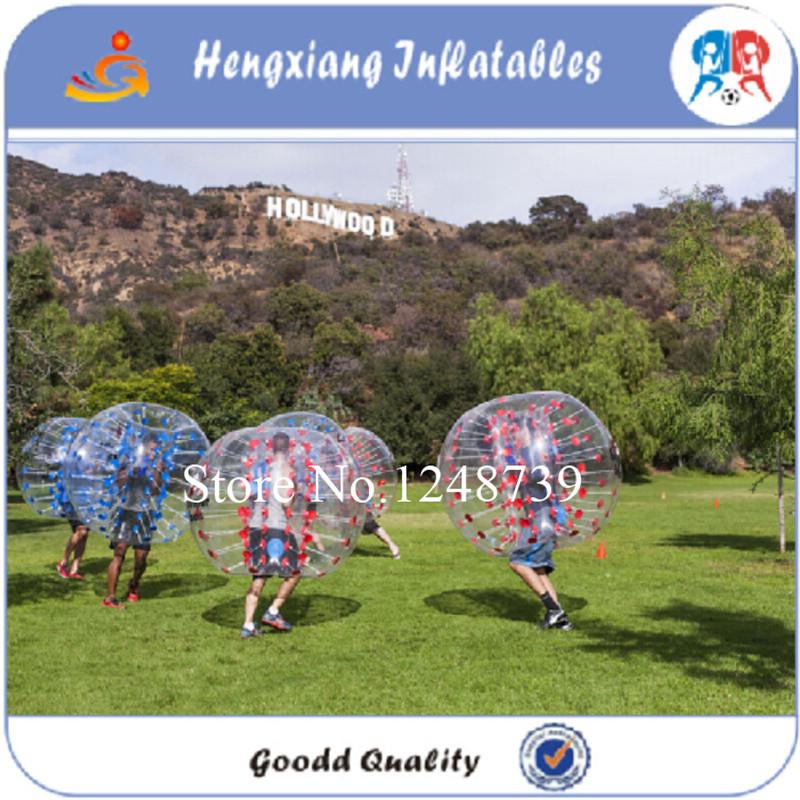 bola de parachoques m tamao material de tpu bola burbuja para uso al aire libre