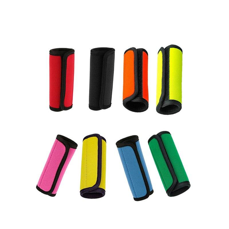 купить Trolley Protecting Sleeve Glove Neoprene Suitcase Luggage Handle Cover Hostess Travelling Trolley Case Travel Accessories Parts недорого