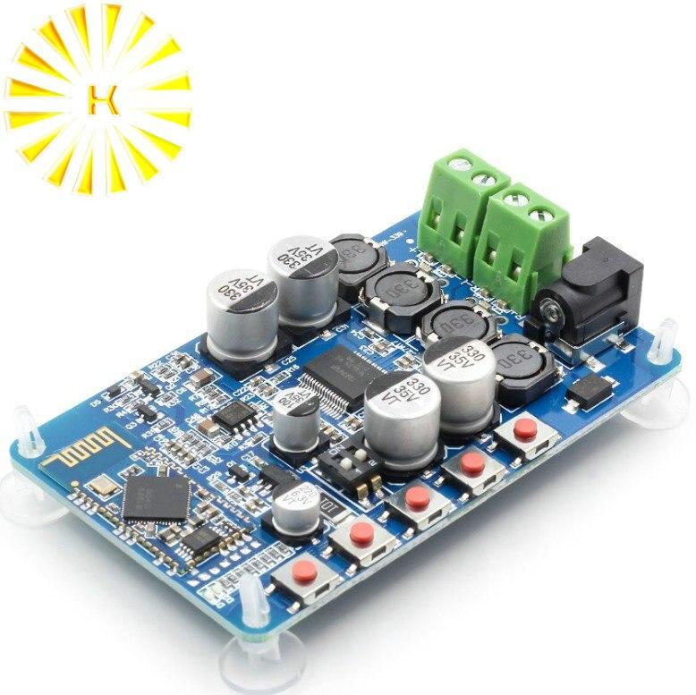 2pcs YDA138 Bluetooth Amplifier Board Module 2.0 Stereo Class D 2*15W DC 12V 2A