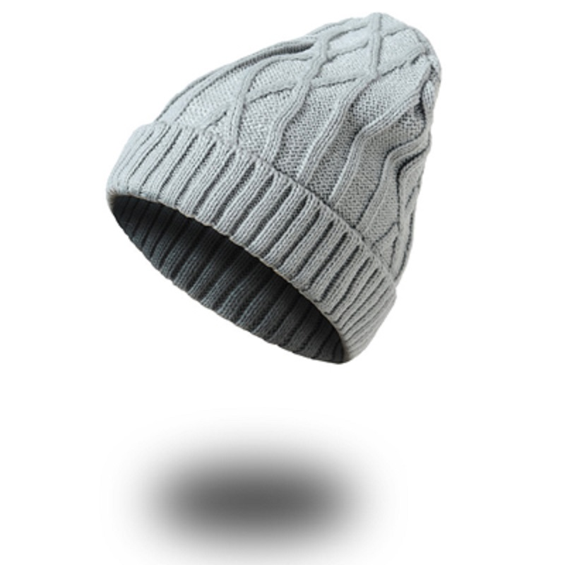 1pcs Unisex Winter Hats for Women and Men Knitting Skullies Beanie Hat Solid Stripes Hip Hop Outdoors Male Female Cap Bonnet multifunctional hats for women and men skullies